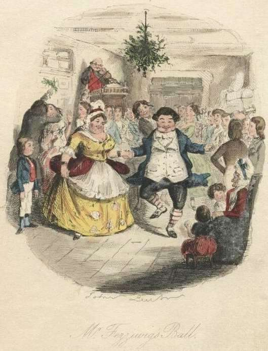 Fezziwig's Ball in A Christmas Carol